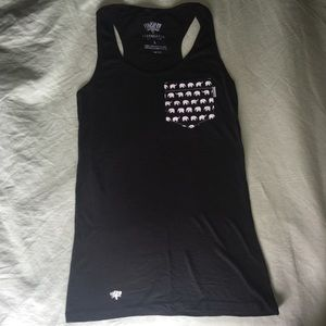Serengetee Tops - Serengetee Tank w Elephant Patterned Pocket